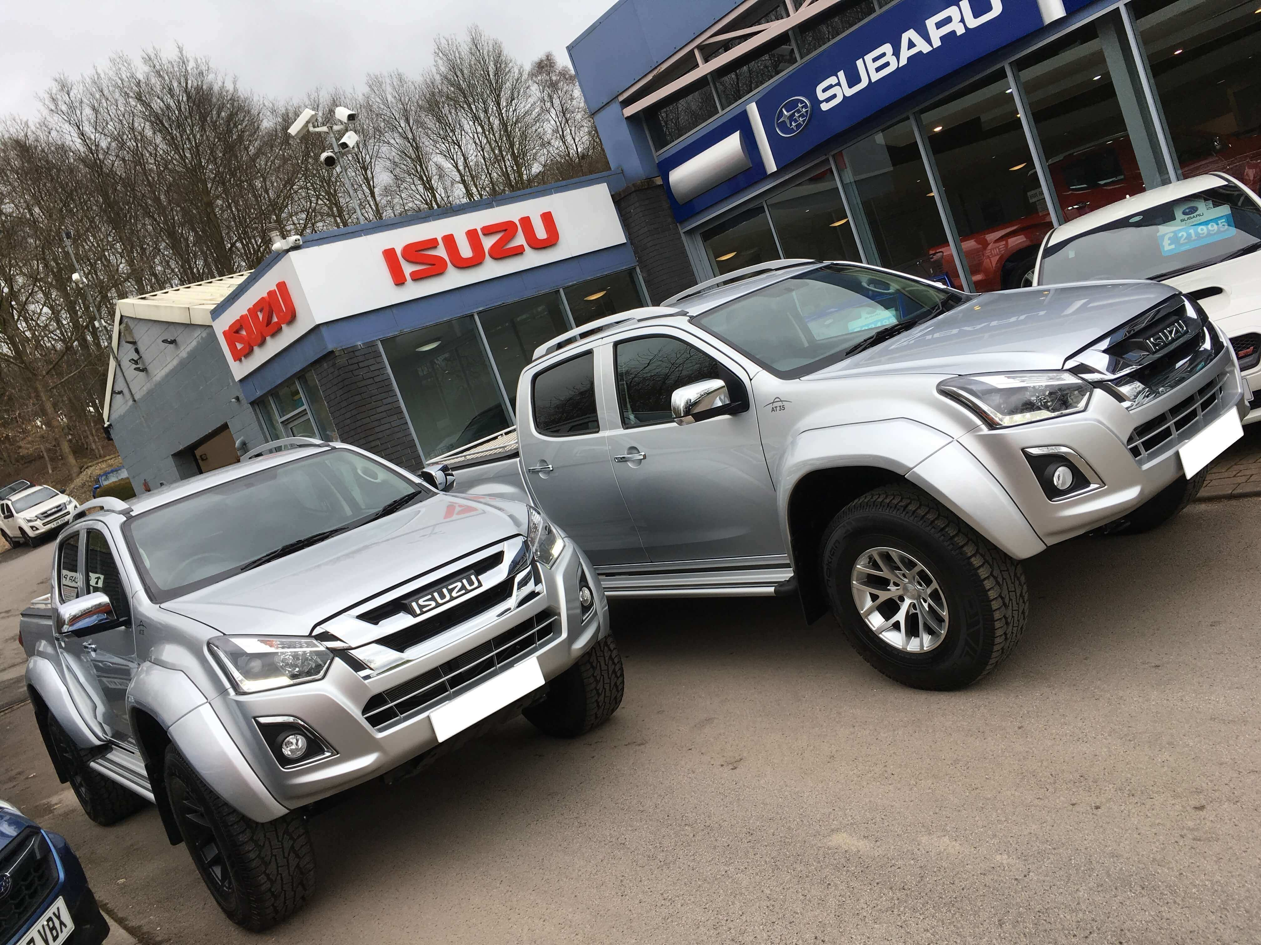The all-new Isuzu D-Max AT35 is a pick-up truck engineered